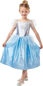 Girls Cinderella Fancy Dress Costume 1