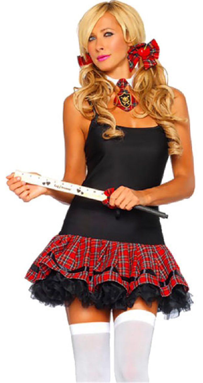 Naughty School Girl Fancy Dress Uk