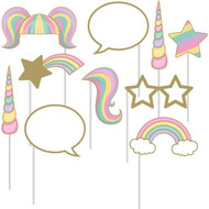 Unicorn Party Photo Booth Props