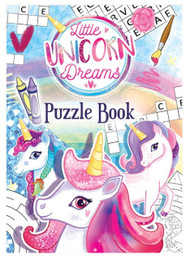 Unicorn Puzzle Book Party Bag Fillers - Pack Of 8