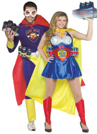 Couples Beer Hero Fancy Dress Costume