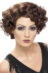 Ladies 1920's Polly Fancy Dress Wig