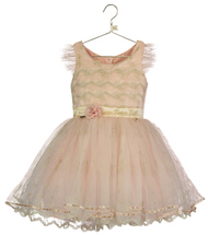 Girls Luxury Disney Boutique Tinkerbell Occasion Dress