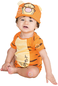 Baby Tigger Romper Fancy Dress Costume