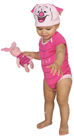 Baby Piglet Romper Fancy Dress Costume