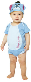 Baby Eeyore Romper Fancy Dress Costume