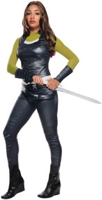 Ladies Gamora Guardian Fancy Dress Costume