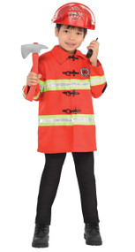 Child's Firefighter Fancy Dress Costume Kit