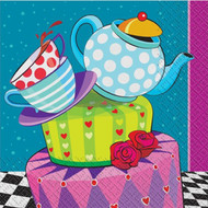 Mad Hatter Party Napkins