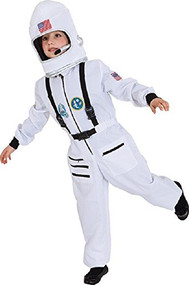 Childs Space Astronaut Fancy Dress Costume
