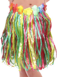 Childs Hula Skirt Fancy Dress Accessory