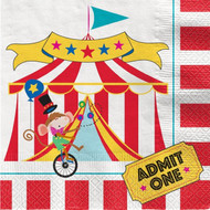 Circus Carnival Party Napkins