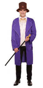 Mens Chocolate Factory Owner Fancy Dress Costume