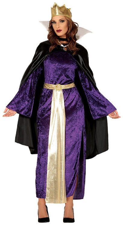 ladies evil queen fancy dress costume fancy me limited