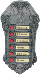 Haunted Doorbell Halloween Party Prop