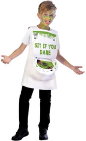 Boys Slimy Toilet Fancy Dress Costume