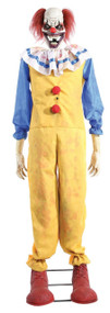 1.8m Twitching Horror Clown Animated Prop