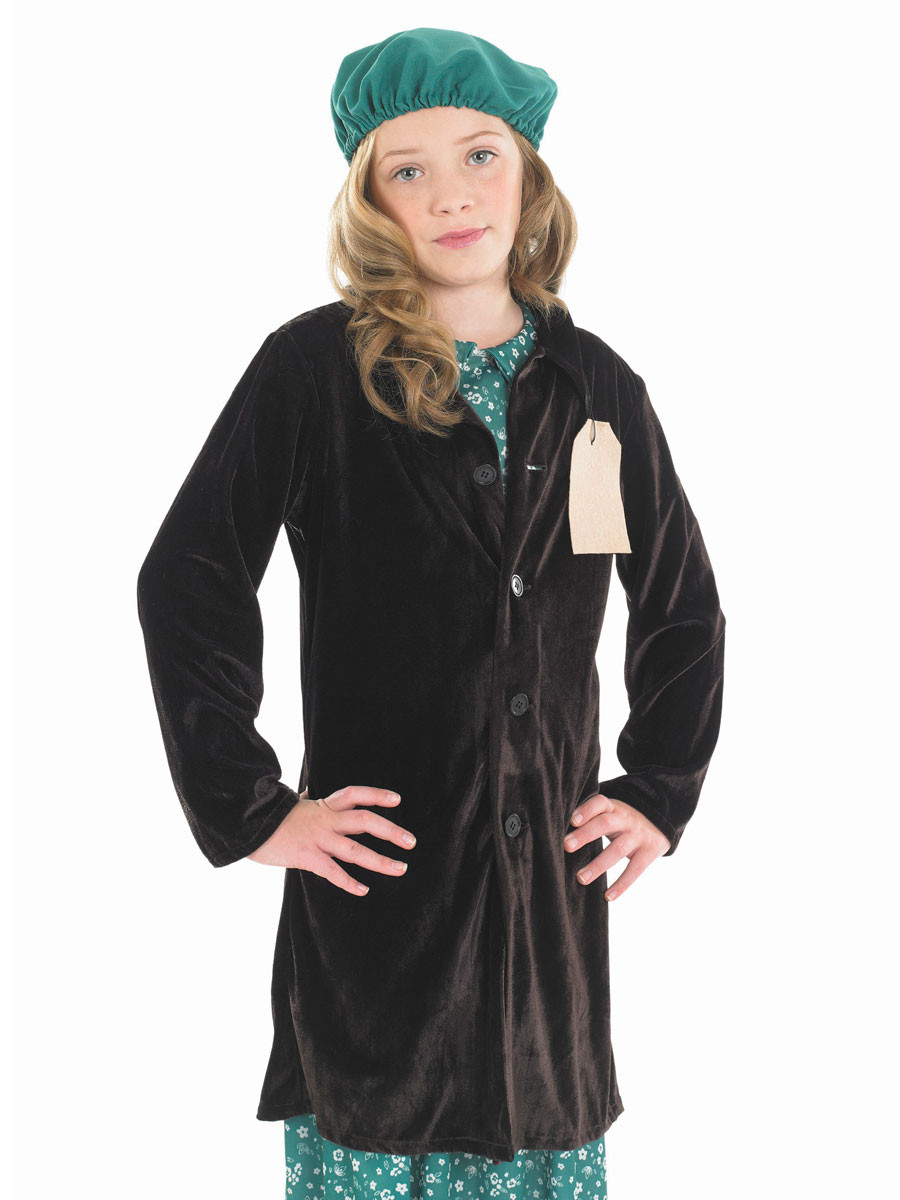 Girls 1940S Evacuee Fancy Dress Costume - Fancy Me Limited-2946