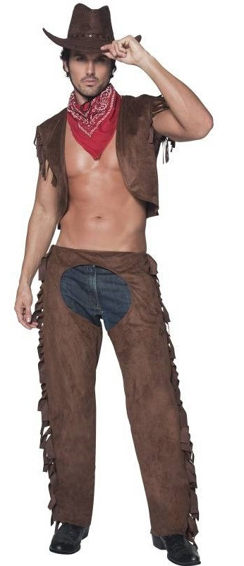 Mens Sexy Fever Cowboy Fancy Dress Costume. Previous. Image 1 Click to view full size image; Image 2  sc 1 st  Fancy Me Limited & Mens Sexy Fever Cowboy Fancy Dress Costume - Fancy Me Limited