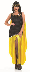 Ladies Cleopatra Fancy Dress Costume 2