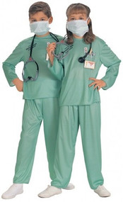 Child's Doctor Fancy Dress Costume 2