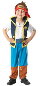 Boys Jake and the Neverland Pirates Fancy Dress Costume
