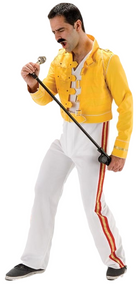 Mens Rock God Fancy Dress Costume