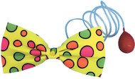 Adult Water Squirt Clown Bow Tie