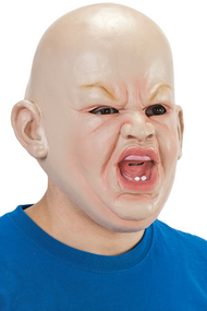 Mens Angry Baby Fancy Dress Mask
