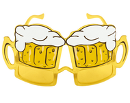 Adult Beer Goggles Glasses