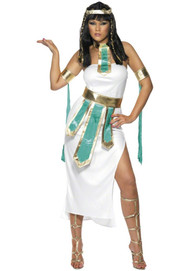 Ladies Cleopatra Fancy Dress Costume 5