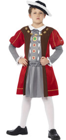 Boys Horrible Histories King Henry VIII Fancy Dress Costume