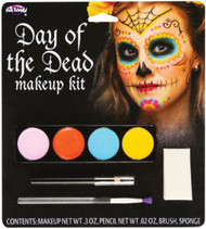 Ladies Day of the Dead Make Up Kit