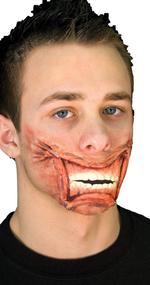 Adult Staple Mouth Halloween Special Effect