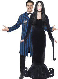 Couples Dark Duke & Morbid Mistress Fancy Dress Costumes