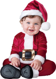Baby Father Christmas Fancy Dress Costume
