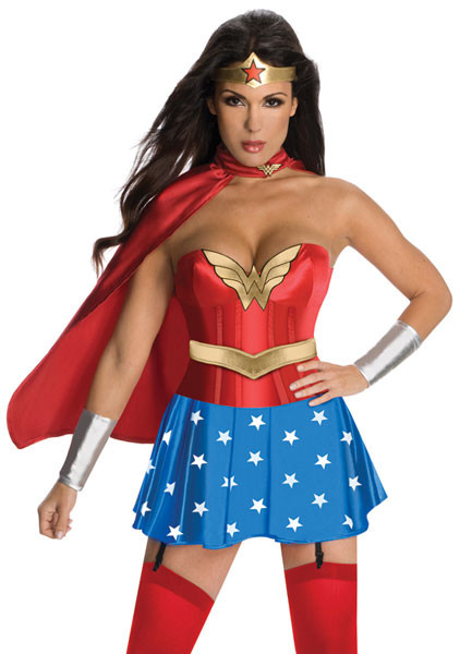 Adult wonder woman costume deluxe-6802