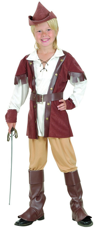 sc 1 st  Fancy Me Limited & Boys Deluxe Robin Hood Fancy Dress Costume