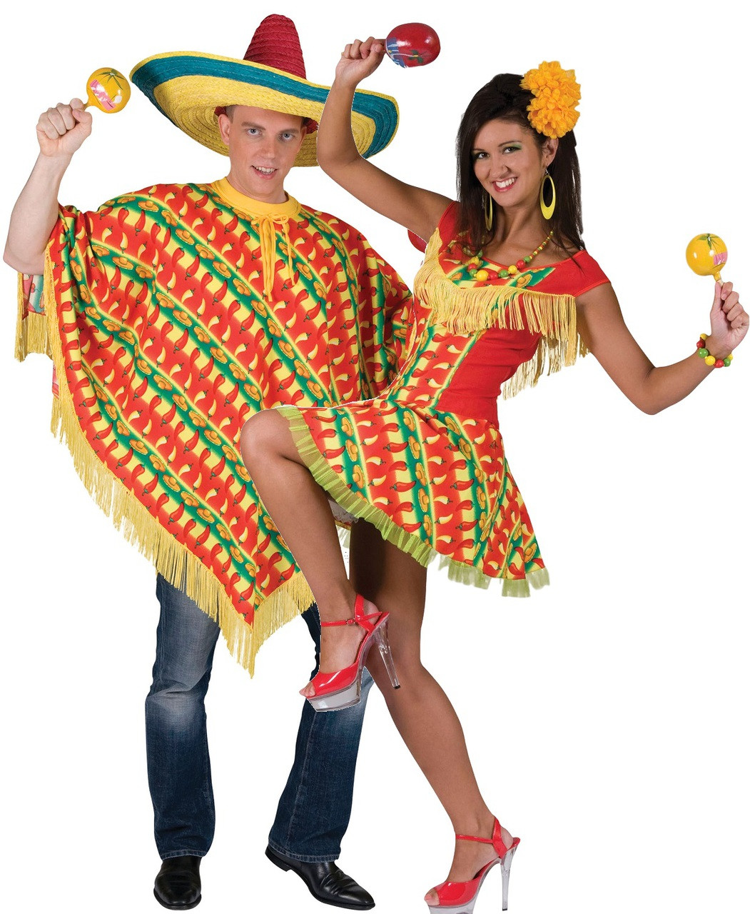 Ladies Sexy Mexican Shooter Fancy Dress Costume - Fancy Me Limited