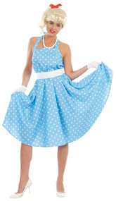 Ladies 1950's Fancy Dress Costume