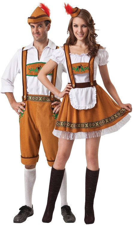 Ac Unit Prices >> Couples Oktoberfest Fancy Dress Costumes - Fancy Me Limited