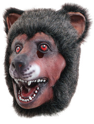 Adult Brown Bear Fancy Dress Mask