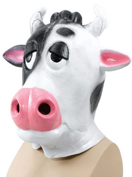 Adult Comical Cow Fancy Dress Mask