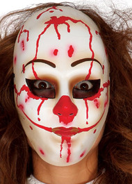 Adult Killer Clown Fancy Dress Mask