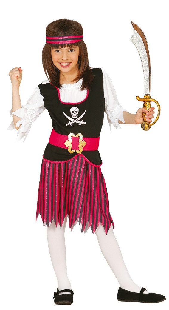 Girls Princess Pirate Fancy Dress Costume. Image 1  sc 1 st  Fancy Me Limited : princess pirate costume  - Germanpascual.Com