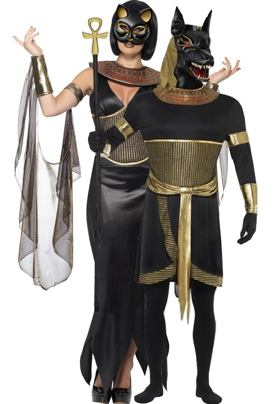 Couples Egyptian God u0026 Goddess Fancy Dress Costumes. Previous. Image 1  sc 1 st  Fancy Me Limited & Couples Egyptian God u0026 Goddess Fancy Dress Costumes - Fancy Me Limited