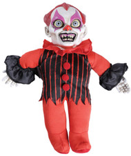 Clown Haunted Doll with Sound