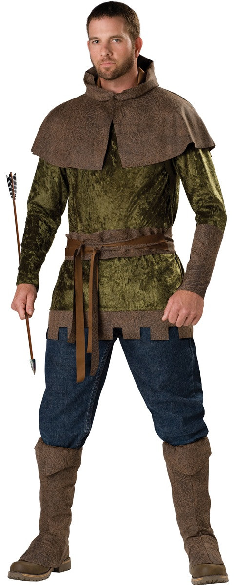 Mens Medieval Robin Hood Fancy Dress Costume. Image 1  sc 1 st  Fancy Me Limited & Mens Medieval Robin Hood Fancy Dress Costume - Fancy Me Limited