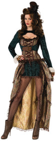 Ladies Deluxe Sexy Steampunk Madame Fancy Dress