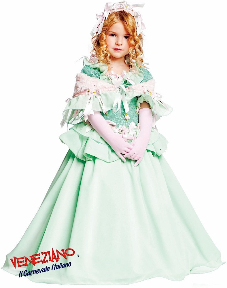 Girls Prestige Green Ballgown Fancy Dress Costume - Fancy Me Limited